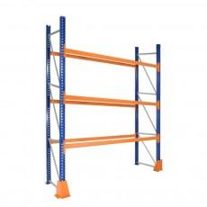 Raft industrial pentru depozitare paleti H:600 cm, 3 nivele