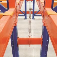 Raft industrial pentru depozitare paleti H:350 cm, 2 nivele