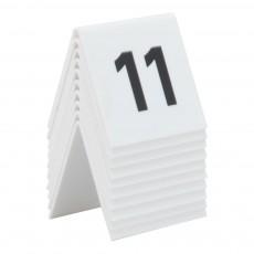 Set numere de rezervare 11-20 pt. mese
