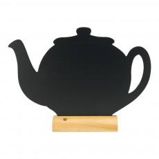 Tabla de scris ceainic cu baza (marker inclus)